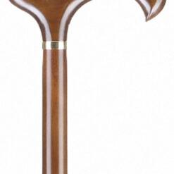 Μπαστούνι Ξύλινο Derby Καφέ AC-828