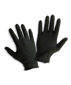 γάντια νιτριλίου μαυρα
