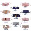 παιδικές υφασμάτινες μάσκες 11 σχέδια