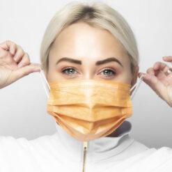 Ιατρική Μάσκα Προσώπου με Οξείδιο του Χαλκού