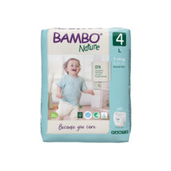 Bambo Nature Πάνα Βρακάκι Eco-Friendly Pants size 4, 7-14 Kg