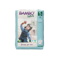 Bambo Nature Πάνα Βρακάκι Eco-Friendly Pants size 5, 12-18 Kg