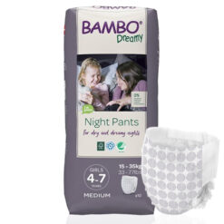 Bambo Nature Dreamy Girl Πάνα Βρακάκι 4-7 years, 15-35 kg