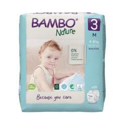 Bambo Nature Πάνες Eco-Friendly size 3, 4-8 Kg