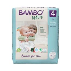 Bambo Nature Πάνες Eco-Friendly size 4, 7-14 Kg
