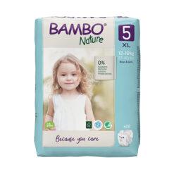 Bambo Nature Πάνες Eco-Friendly size 5, 12-18 Kg