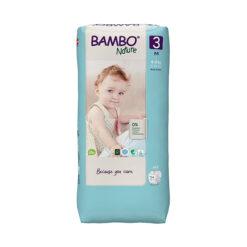 Bambo Nature Πάνες Eco-Friendly size 3 μεγάλη συσκευασία, 4-8 Kg