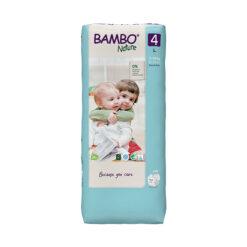 Bambo Nature Πάνες Eco-Friendly size 4 μεγάλη συσκευασία, 7-14 Kg