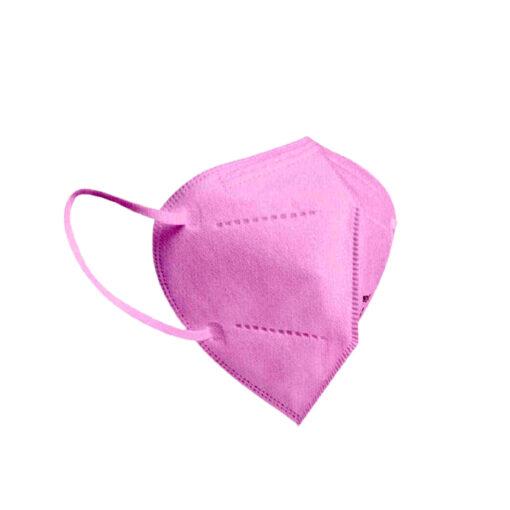 Μάσκα Υψηλής Προστασίας FFP2, KN95 σε ροζ χρώμα