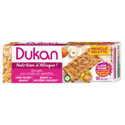 Dukan Μπισκότα βρώμης με γεύση φουντούκι 225g