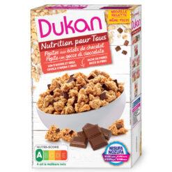 Dukan Δημητριακά Clusters με κομμάτια σοκολάτας 350g