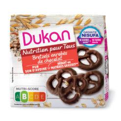 Dukan Pretzels Βρώμης με επικάλυψη σοκολάτας 100g